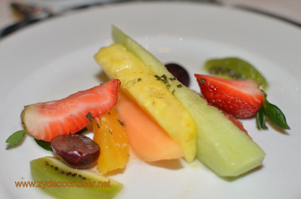 Tropical Fruits, marinated with lime juice and a touch of tequila