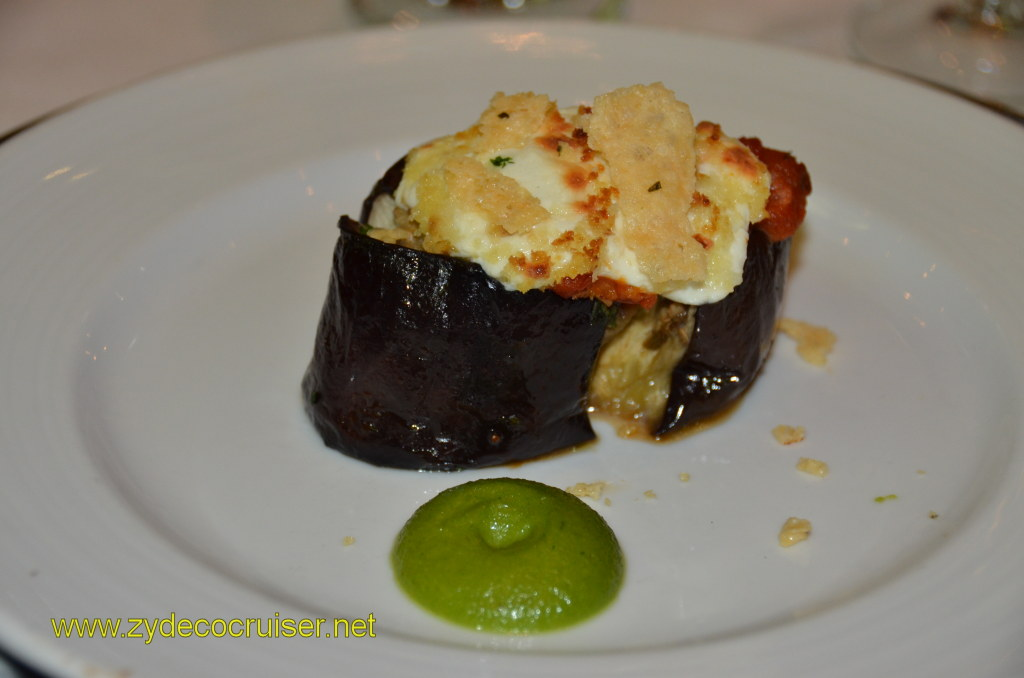 Baked Eggplant with Mozzarella Cheese - this was different for me, so several pictures