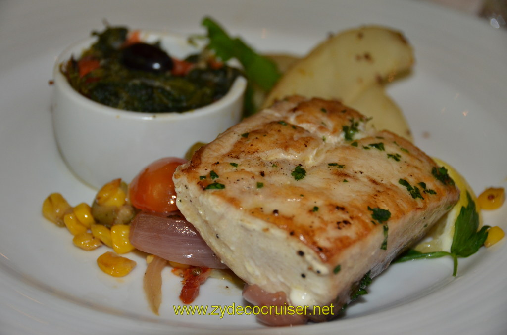 Broiled Filet of Mahi Mahi