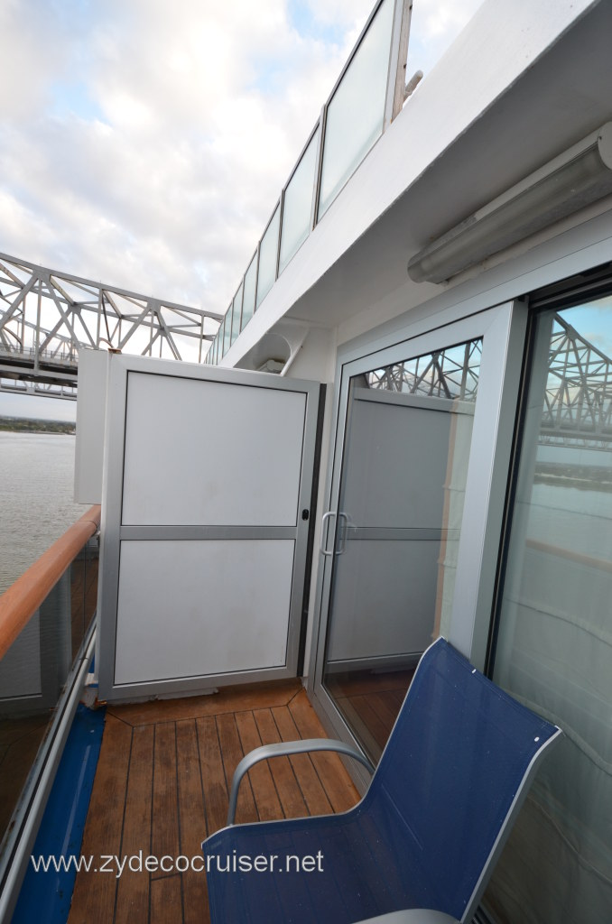 Spa deck on conquest cruise critic message board forums for View from balcony quotes