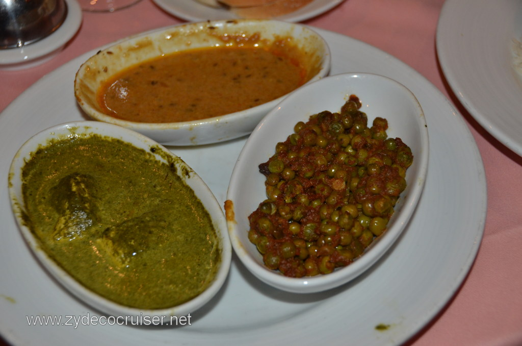 Carnival Conquest Indian Food