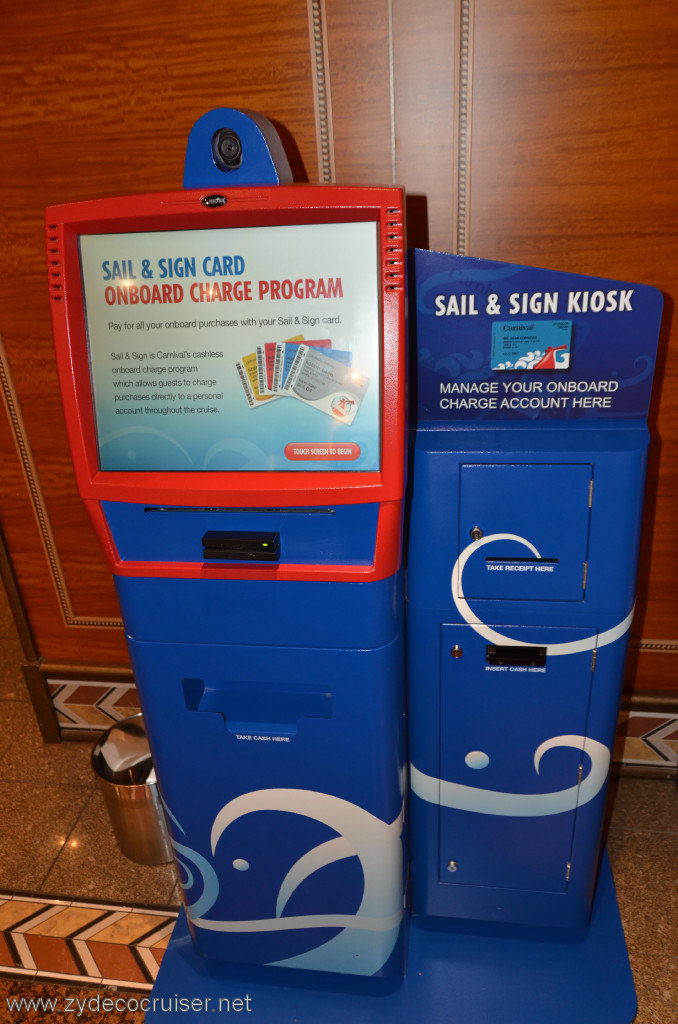 Sail And Sign Kiosk Cruise Critic Message Board Forums