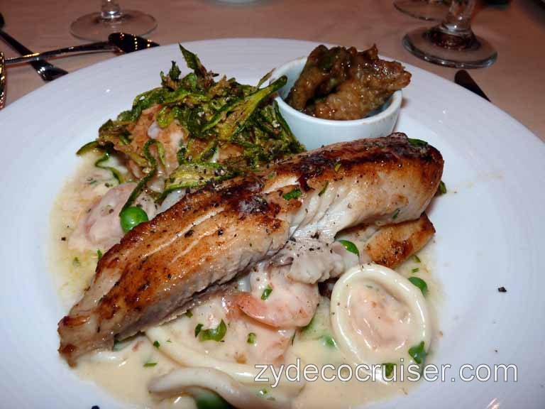 Carnival Dream - Blackened Filet of Tilapia