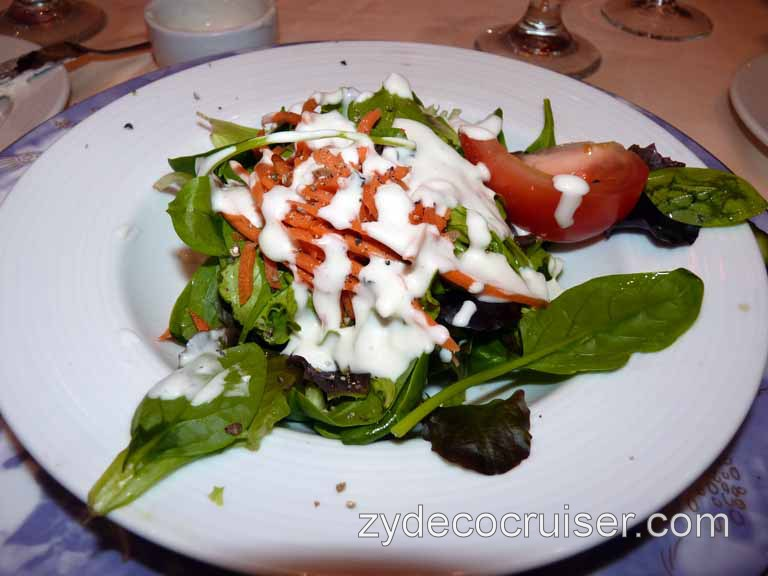 Carnival Dream - Mixed Garden and Field Greens, with Blue Cheese!