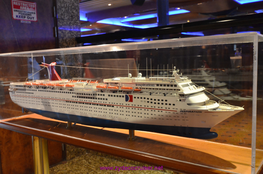 129 Carnival Elation New Orleans Embarkation Outside