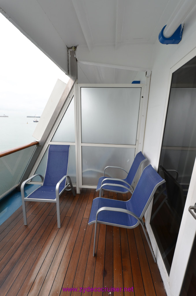 Carnival cruise balcony room vs suite for Cruise balcony vs suite