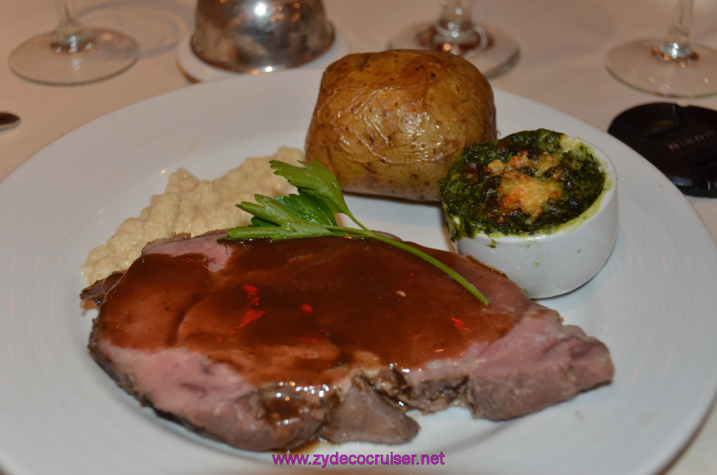 Tender Roasted Prime Rib of American Beef au Jus
