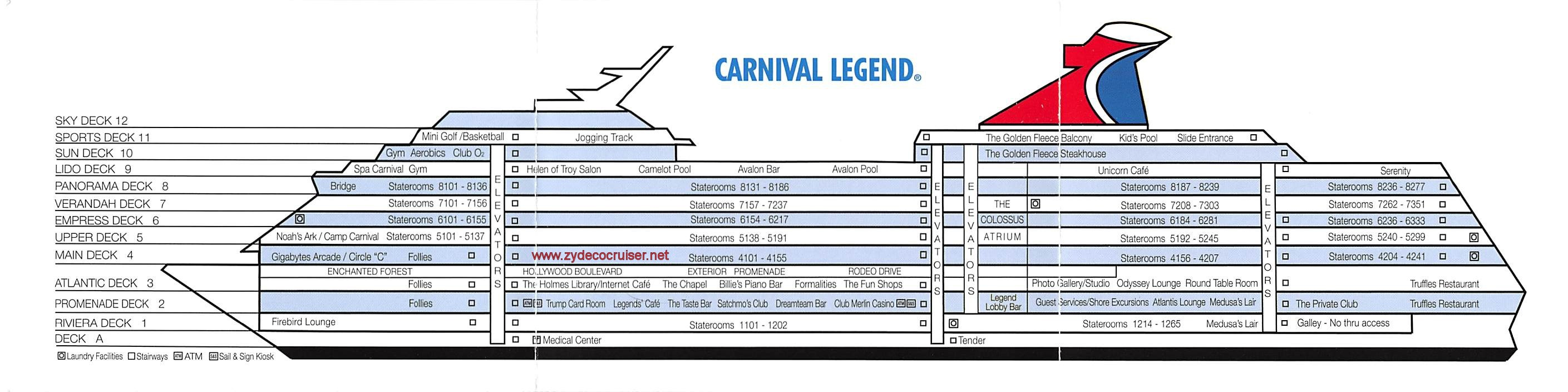 21 wallpapers carnival cruise deck plan legend punchaos latest the link above will take you to cruisins custom interactive cruise ship tracker once there you will also have the option to select from hundreds of baanklon Images