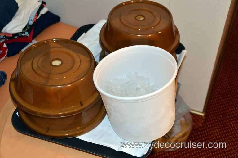 carnival cruise lines room service