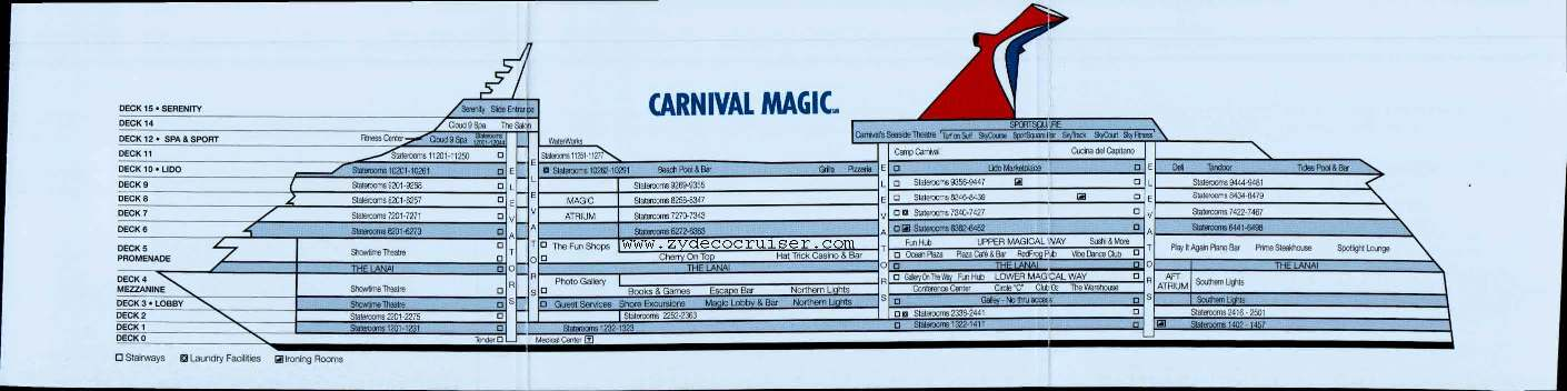 Carnival Sensation Ship Layout Newhairstylesformen2014com