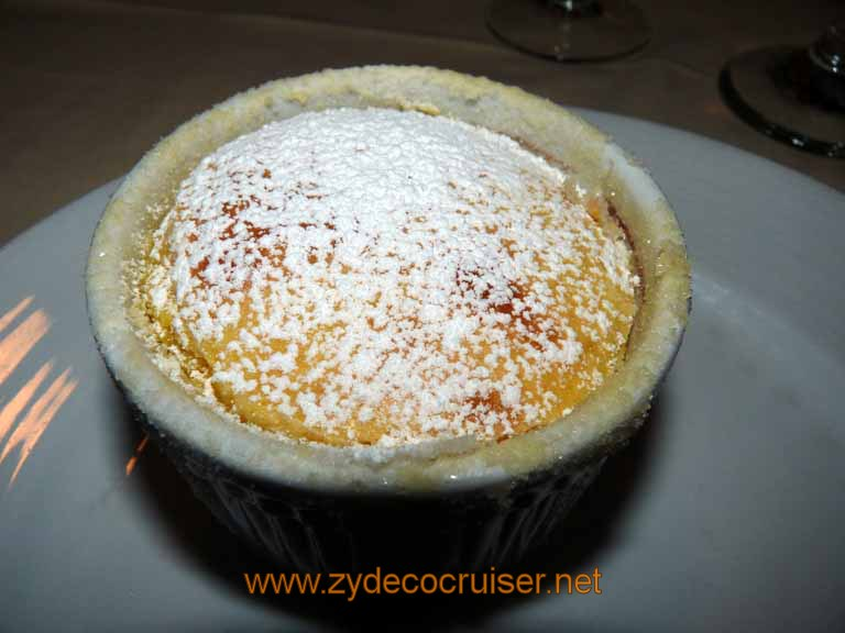 ... Carnival Sensation - Grand Marnier Soufflé with Orange Vanilla Sauce
