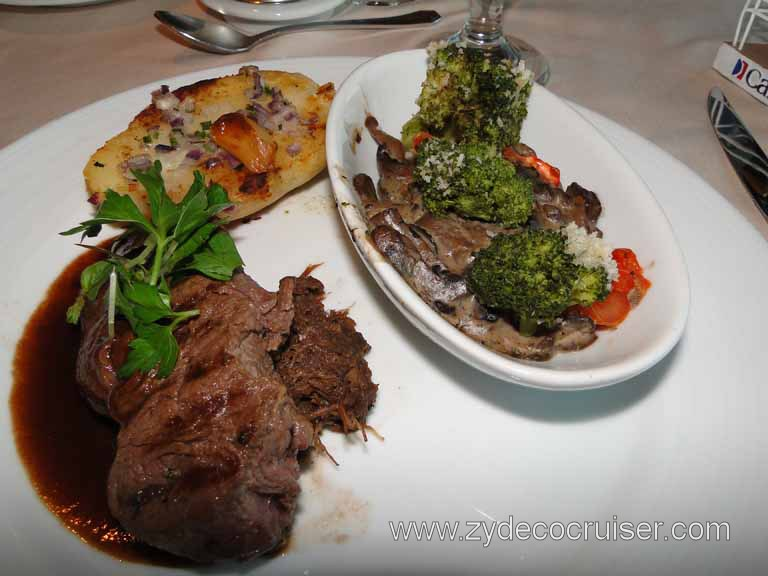 327: Carnival Spirit - Duet of Petite Filet Mignon and Short-Rib Confit