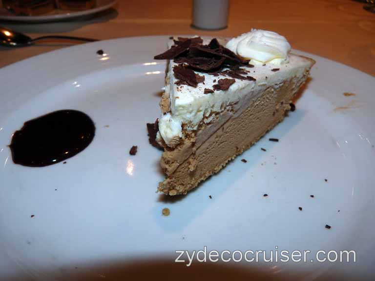 608: Carnival Spirit, Honolulu, Hawaii, Cappuccino Pie