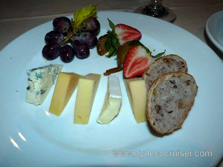 114: Carnival Spirit, Sea Day 2 - Cheese Plate