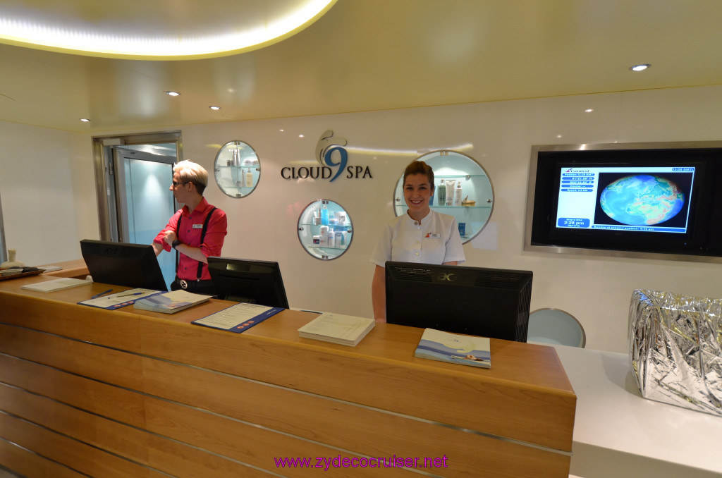 286 carnival sunshine cruise barcelona embarkation for Cloud 9 salon dehradun