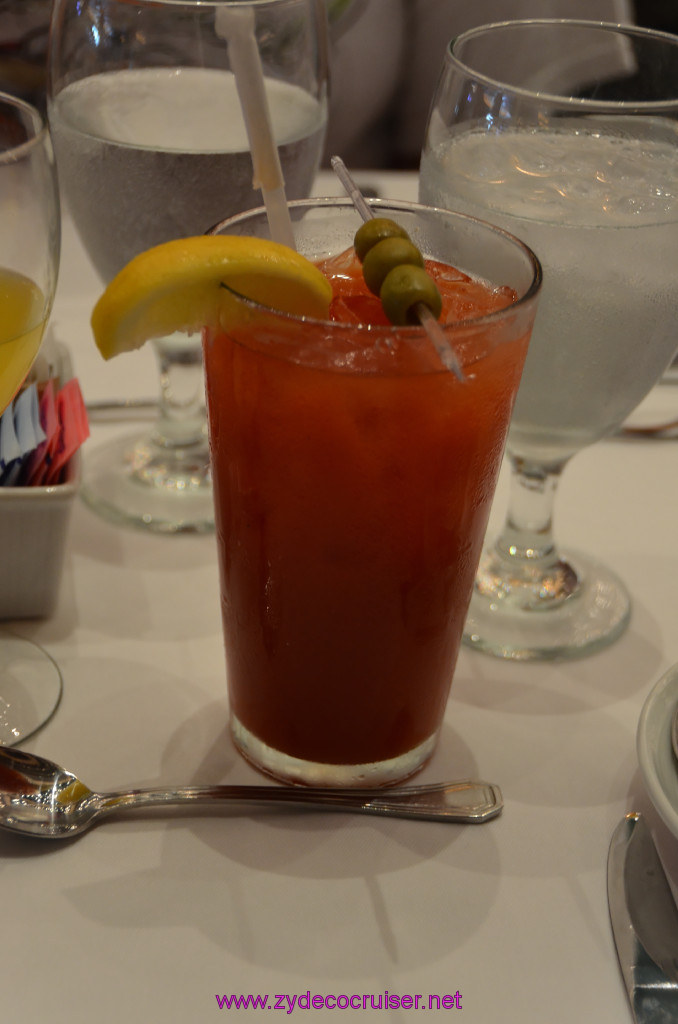 Carnival Punchliner Comedy Brunch - Bloody Mary
