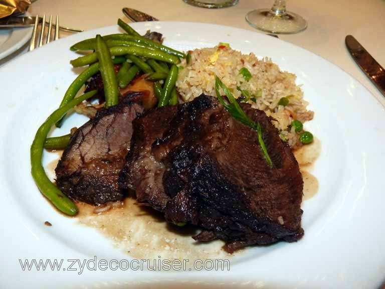 201: Carnival Triumph, Progreso, Braised Style Short Ribs from Aged Premium American Beef