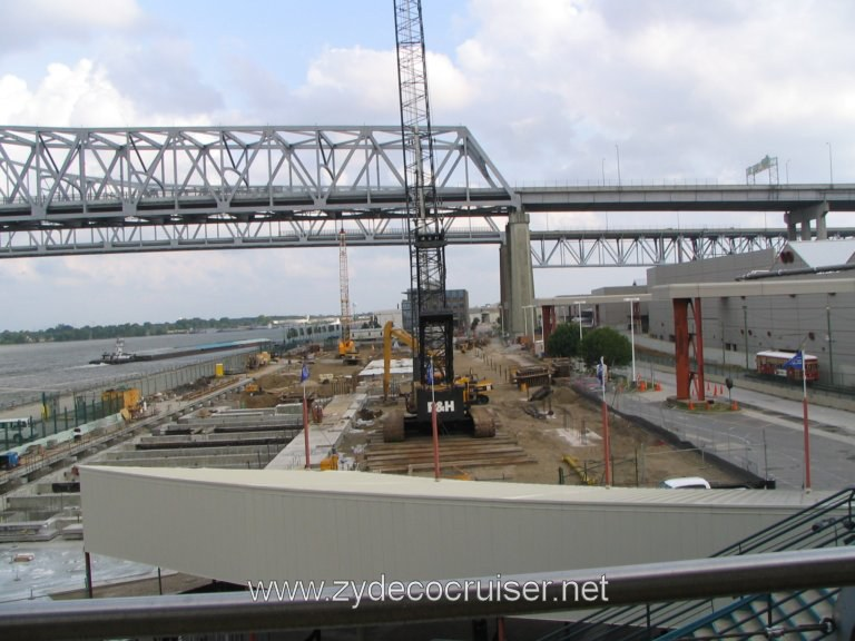 New Orleans, Erato Street Cruise Terminal, Construction