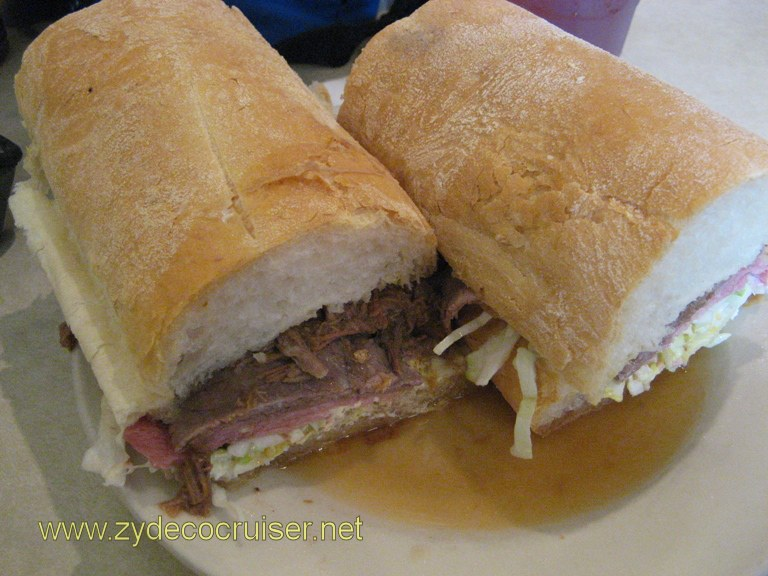 Famous Ferdi Special Poboy, Mother's Restaurant, New Orleans