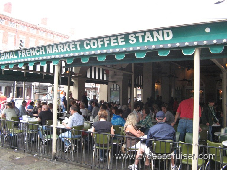 Cafe Du Monde - The Original Coffee Stand, New Orleans