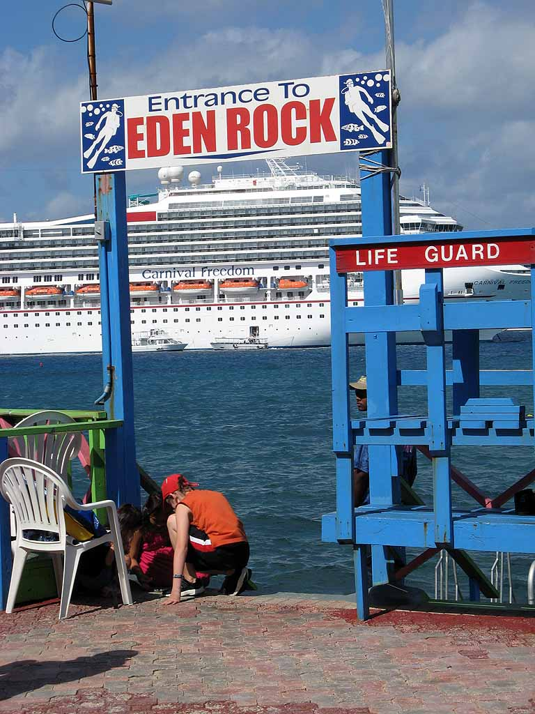 Eden Rock, Grand Cayman, Carnival Freedom