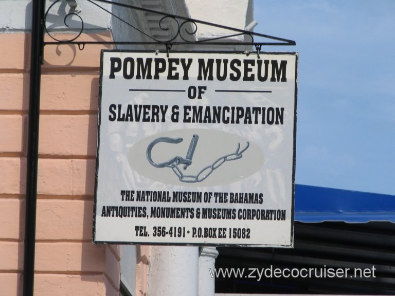 Pompey Museum of Slavery and Emancipation, Nassau, Bahamas
