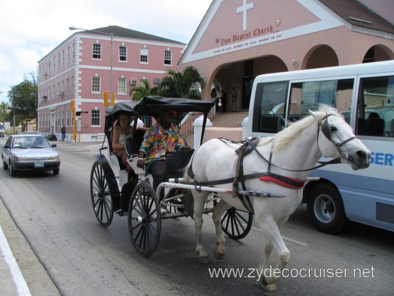 Horse and Carriage (Surrey) City Tour, Nassau, Bahamas
