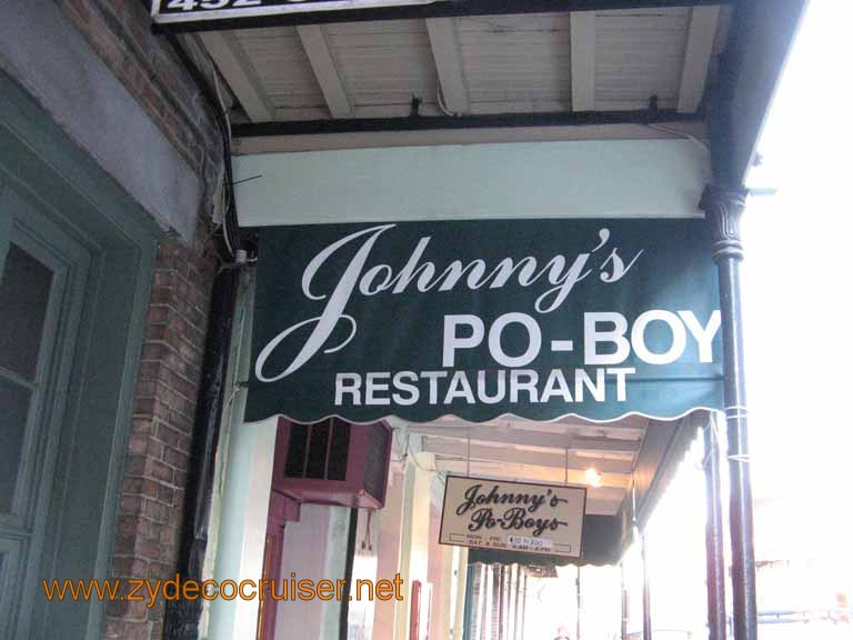 Johnny's Po-Boy Restaurant, New Orleans