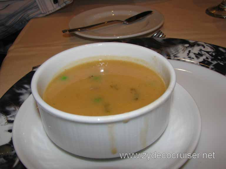 Pistou Broth, Carnival Splendor