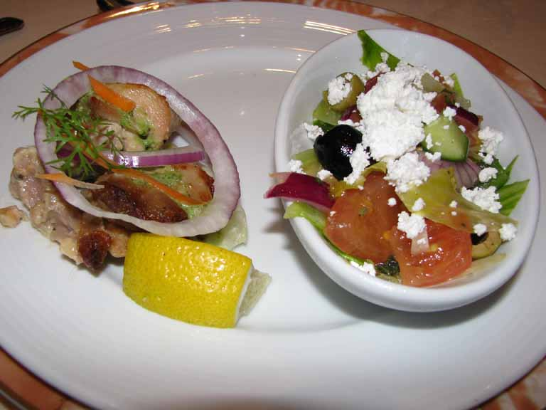 Greek Farmer Salad, Carnival Splendor