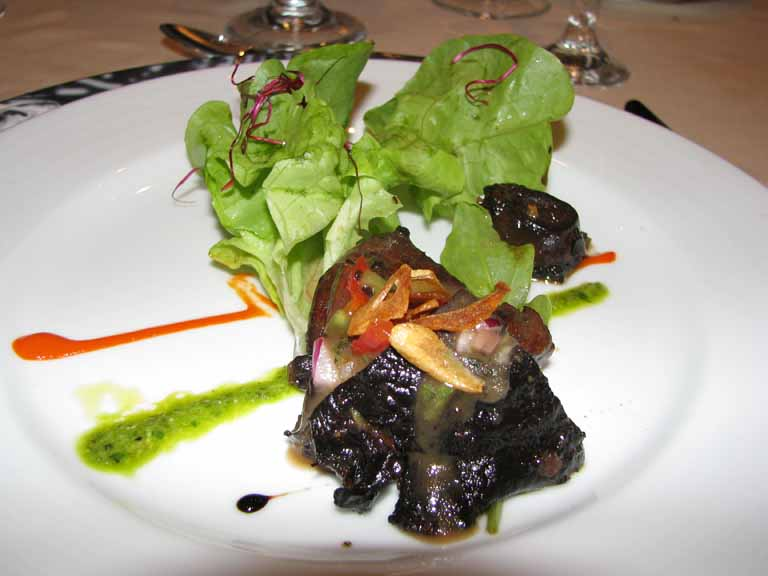 Portobello Mushroom and Mesclun Lettuce, Carnival Splendor
