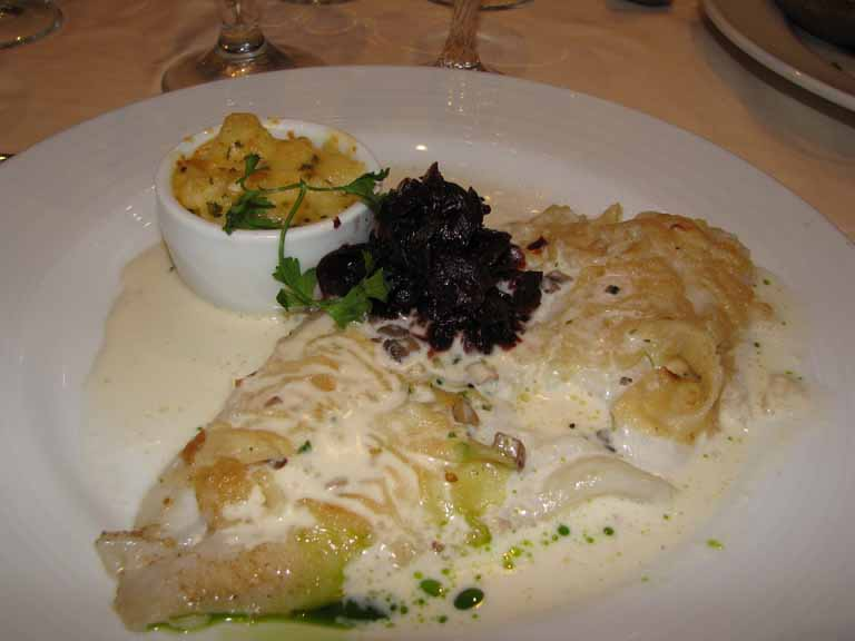 Whole Dover Sole Meuniere, Carnival Splendor