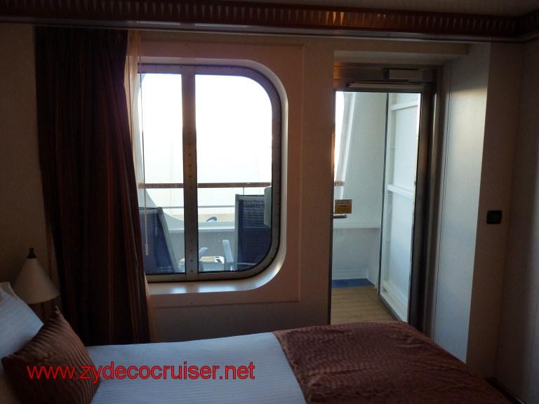 024: Carnival Dream Cove Balcony: Stateroom 2349