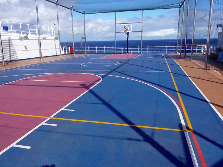 Download Does The Carnival Glory Have A Basketball Court  Background
