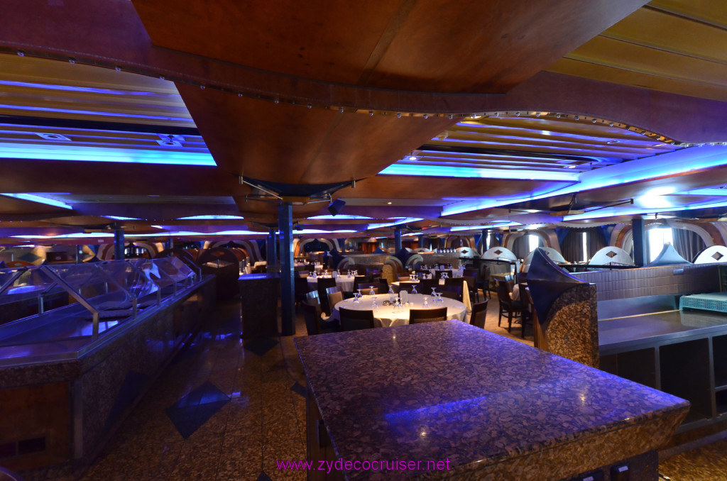 128 Carnival Elation New Orleans Embarkation Inspiration Dining Room