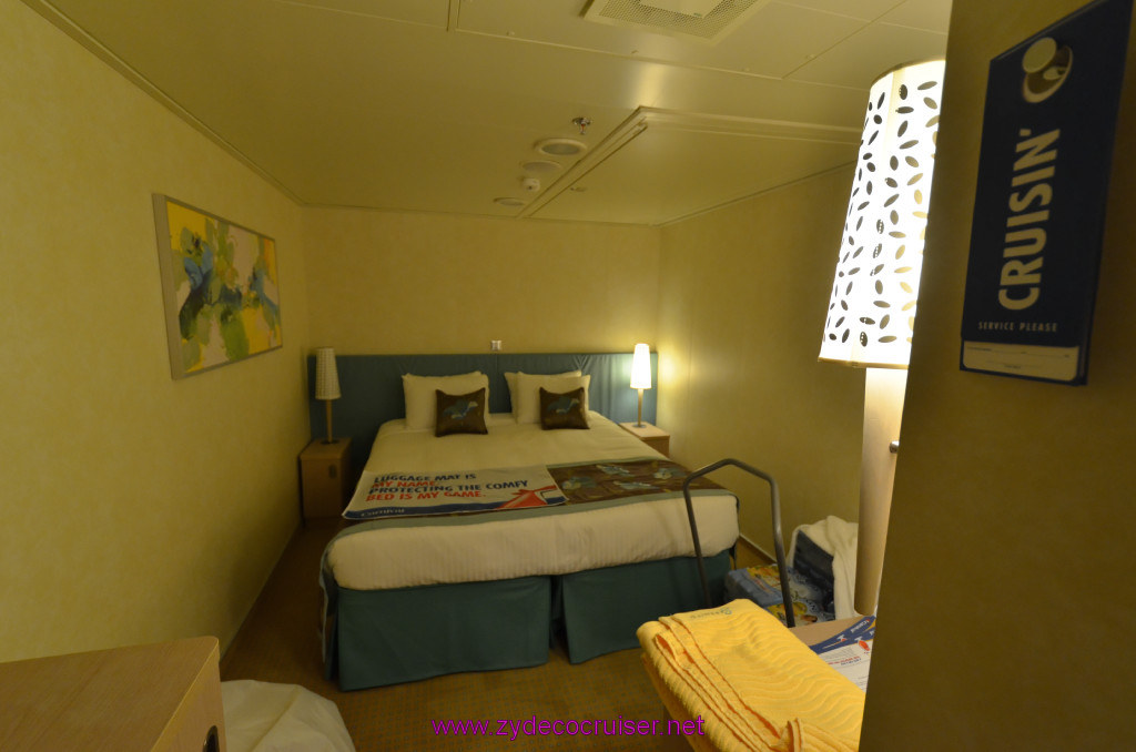 046 Carnival Sunshine Cruise Barcelona Embarkation Stateroom 11006