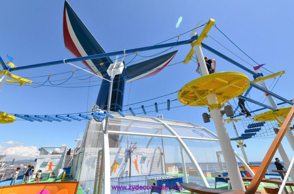 121 Carnival Sunshine Cruise Barcelona Embarkation